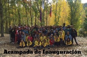 Acampada Inauguración 2015-2016-fin