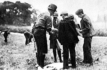 Historia Scouts - Scouts en Brownsea