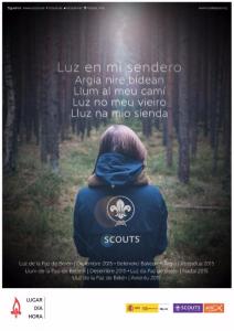 Luz de la Paz de Belén - Atarfe - 2015-2016