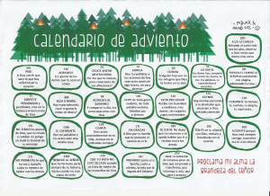 Rangers - Calendario de Adviento - 15-16
